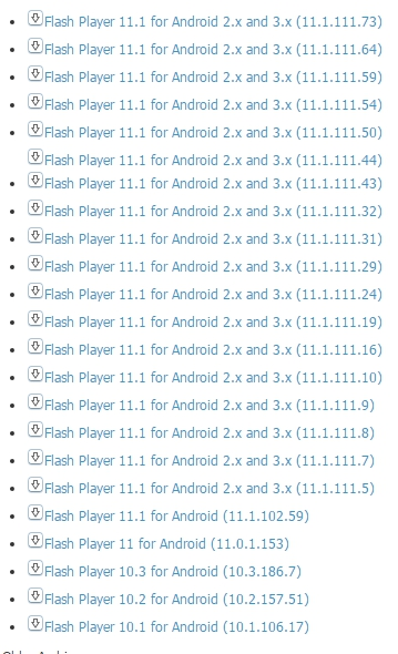 Скачать плагин adobe flash player for android 2-3