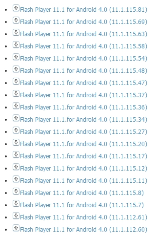 Скачать плагин adobe flash player for android 4